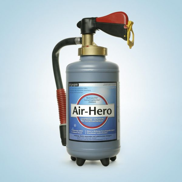 AirHero Bad Odor Remover – First aid in case of attacks with butyric acid in event areas